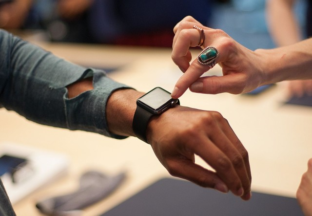 A personal showing, by appointment only, for the new Apple Watch. Photo: David Pierini/Cult of Mac