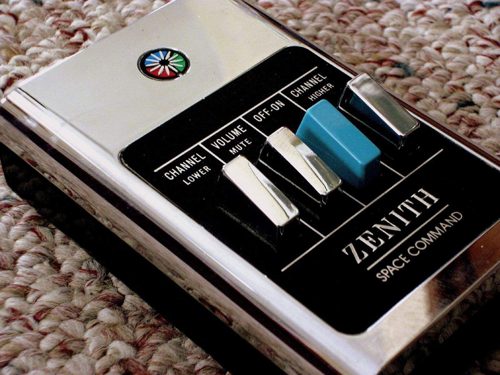 The remote control for the Zenith Space Command TV. Photo: Todd Ehlers/Flickr CC