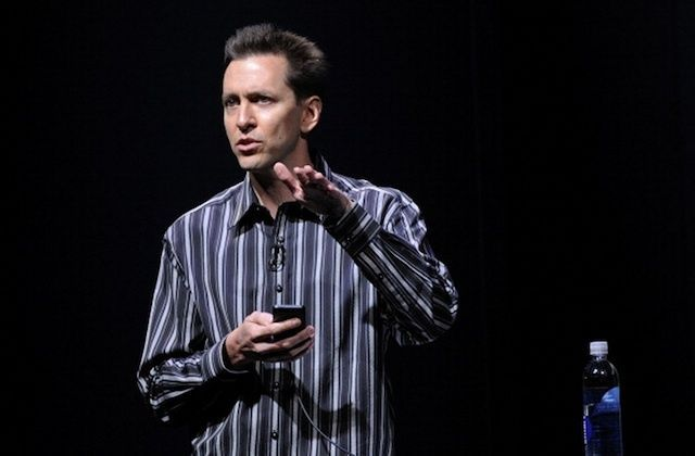 Forstall is finding success on a new type of stage. Photo: Apple