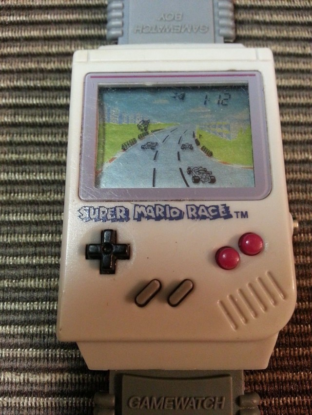 Super Mario Race Gamewatch, 1992. Photo: anotherretrothing/eBay
