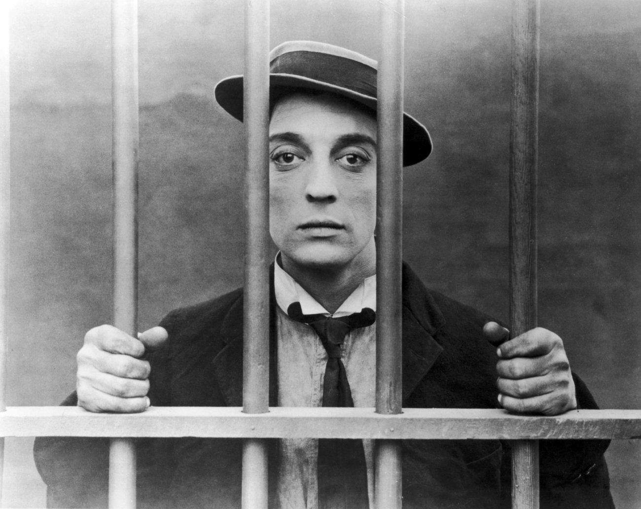 Photo: Buster Keaton in The Goat