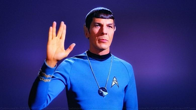 iOS 8.3 emoji now include the Vulcan salute. Photo: Star Trek