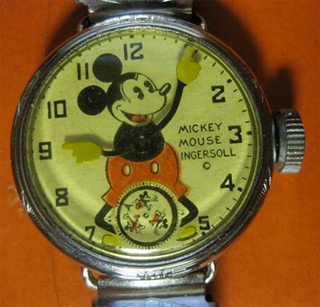 It's hard to beat the original Mickey Mouse watch from 1933. Photo: antiquedigger.com