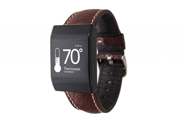 Receivers in the home and this smartwatch by Reemo will allow users to control virtually any function in their home. Photo: Reemo