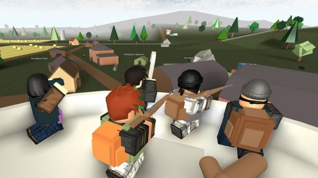 A screenshot from the ROBLOX game Apocalypse Rising. Photo: ROBLOX