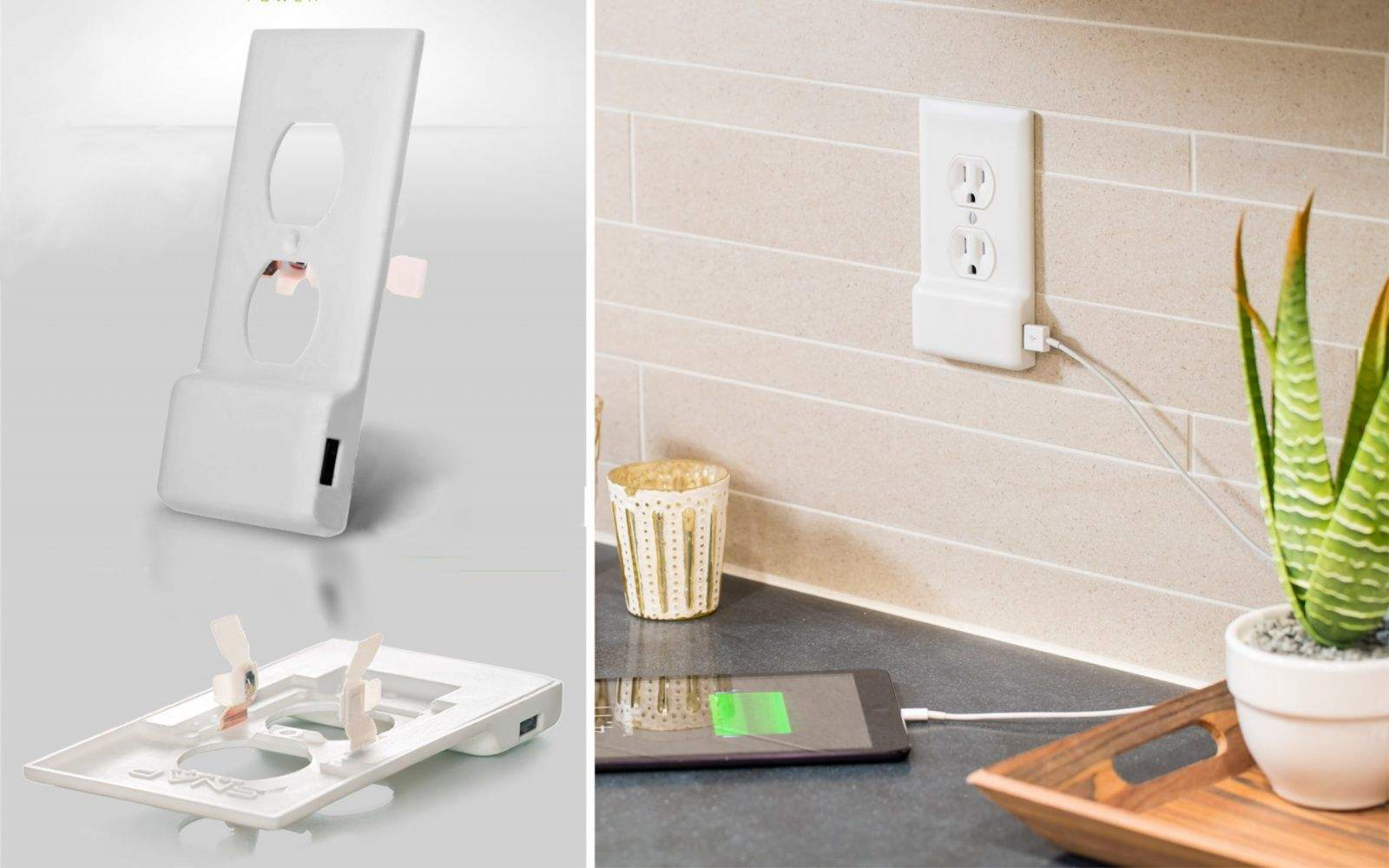 The SnapPower USB charger has raised more than $600,000 on Kickstarter. Photo: SnapPower