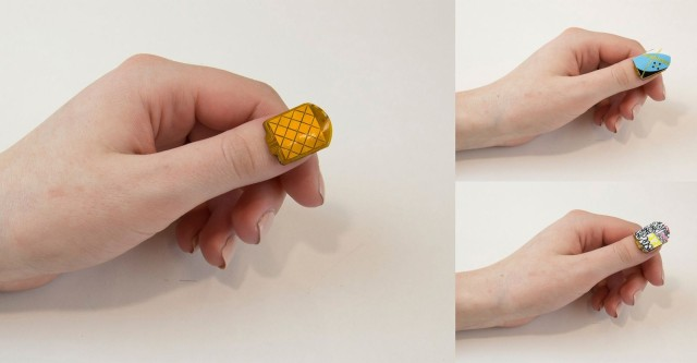 NailO will also come with a detachable membrane with patterns and colors to go with any wardrobe. Photo: MIT Media Lab