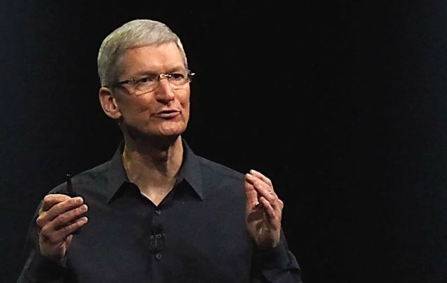 How much would you pay for lunch with Tim Cook? Photo: Apple