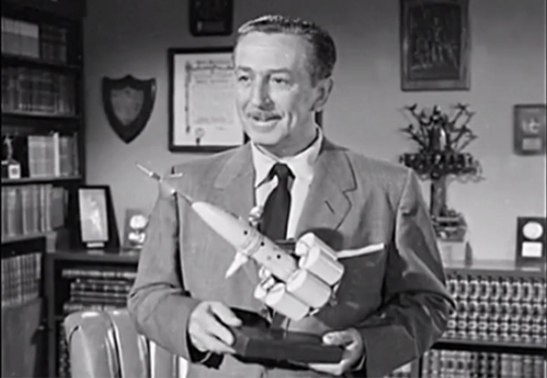 Walt Disney was a champion of science and technology and used his theme parks to promote the future. Photo: Walt Disney Studios/YouTube