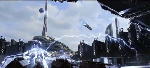 A scene from the upcoming film Tomorrowland. Photo: Walt Disney Studios Motion Pictures/YouTube