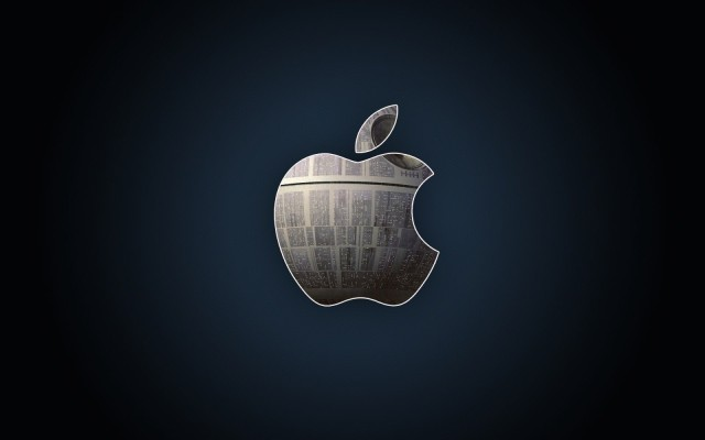 Another Apple Death Star wallpaper. Photo: HDW