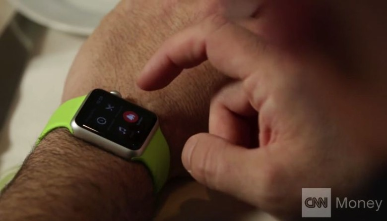 The Apple Watch is already improving lives. Photo: CNN Money