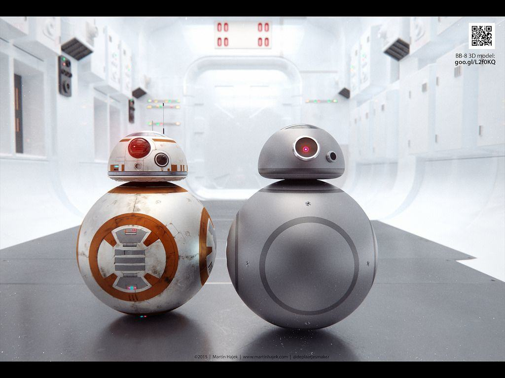 This Is What New Star Wars Droid Bb 8 Would Look Like In Space Gray