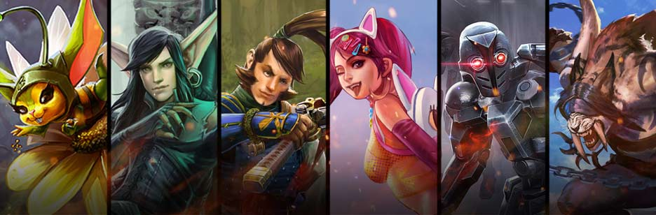 Six new hero skins are here! Photo: Super Evil Megacorp