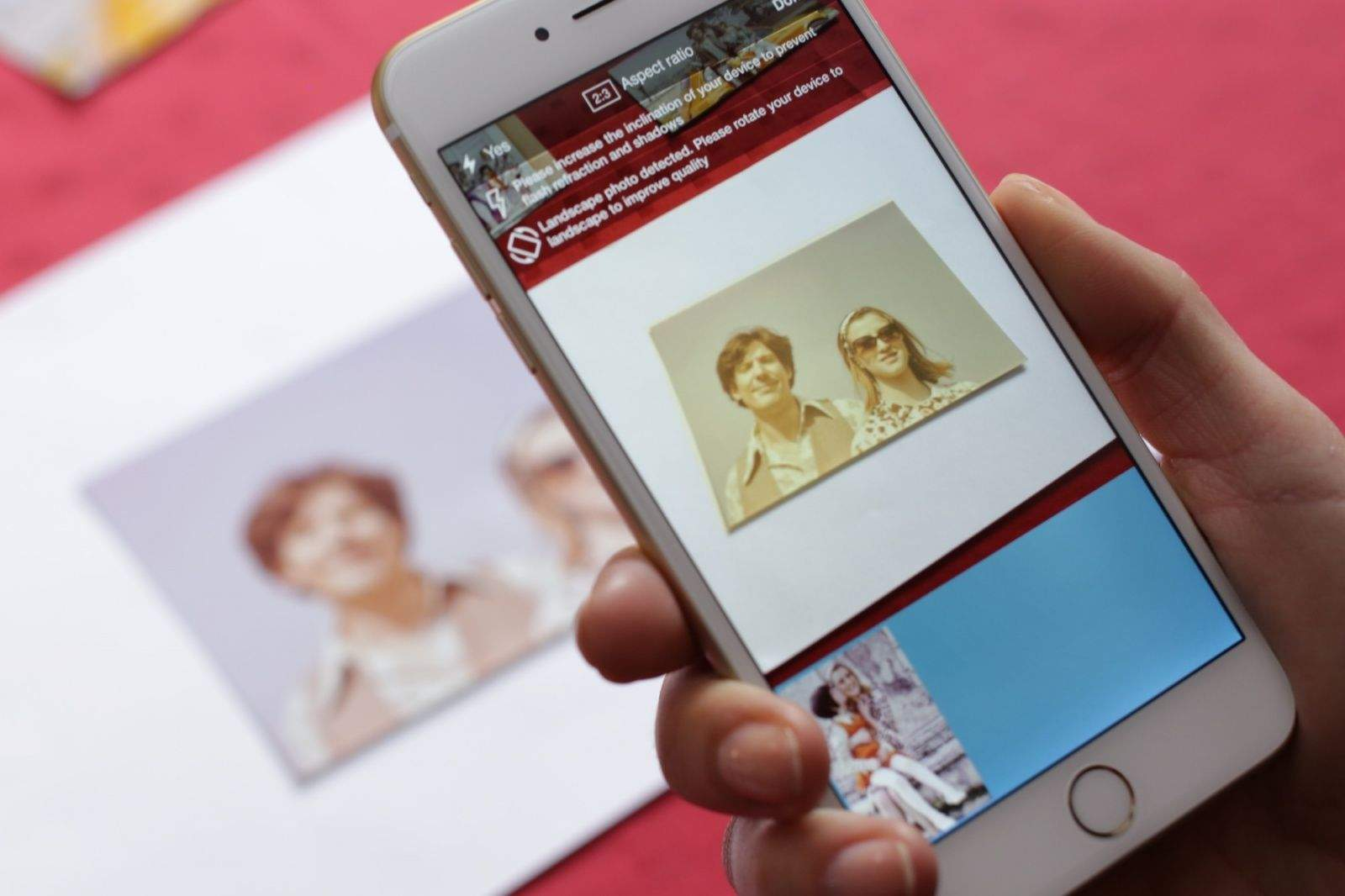 Memories Photo Scanner makes it easy to digitize your pictures. Photo: Idea Solutions