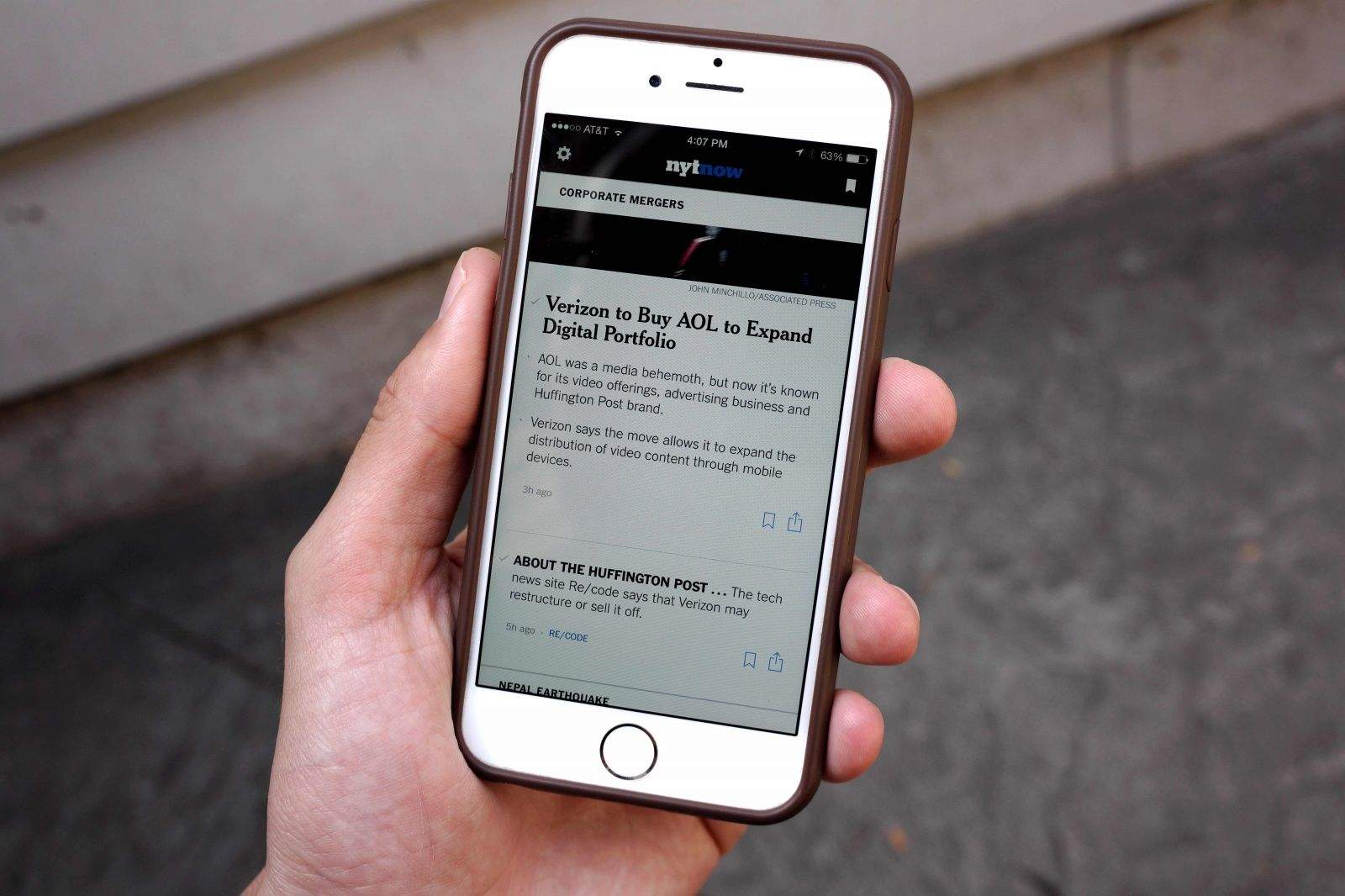 Nyt now is the best news app on the iphone right now photo alex heathcult of mac publicscrutiny Image collections