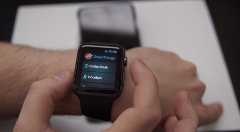 Control your smart home from your Apple Watch, courtesy of... Samsung? Photo: SmartThings