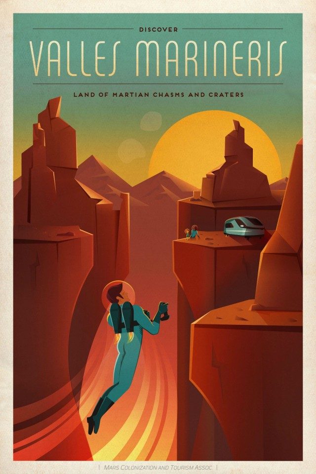 The canyons of Valles Marineris are calling.