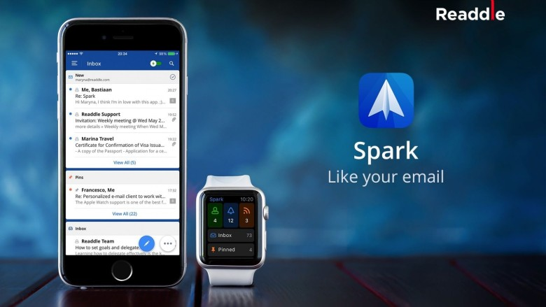Your Apple Watch is never going to be the device from which you reply to most of your messages, but that doesn't mean it can't have its part to play in helping you stay on top of your Inbox.Unlike the functionality of Apple's own Mail app on the Apple Watch — which lets you only flag messages, mark them as unread, or delete them — Spark allows you reply to messages using quick responses or dictation. The accompanying iOS app is a great email tool in its own right.Download: Spark by Readdle (free)