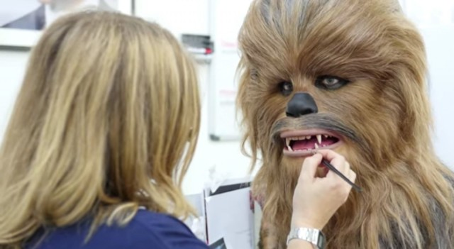 It took a team of 10 working about 800 hours just to get the hair right on Chewbacca.