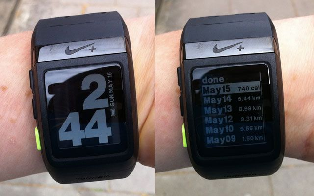 The Nike Plus SportWatch GPS