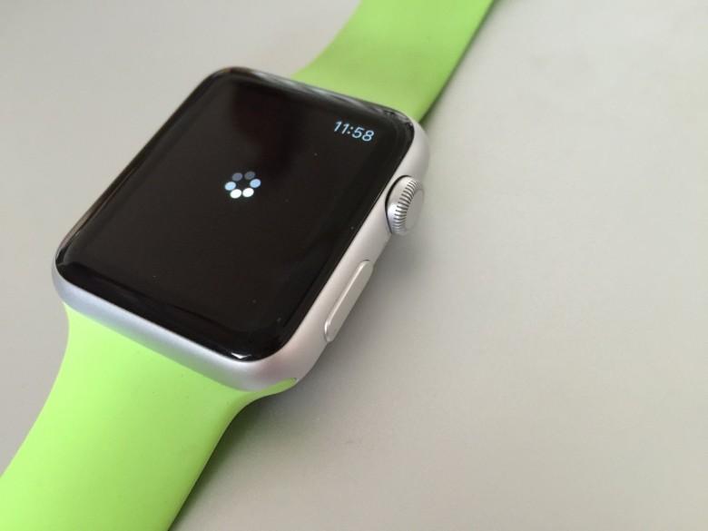 Apple Watch Sport green
