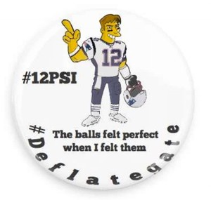 Quarterback Tom Brady is accused of requesting under inflated footballs in the AFC  final against the Colts.