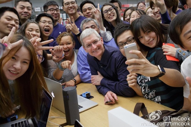 Tim Cook and Apple might be moving into San Francisco.