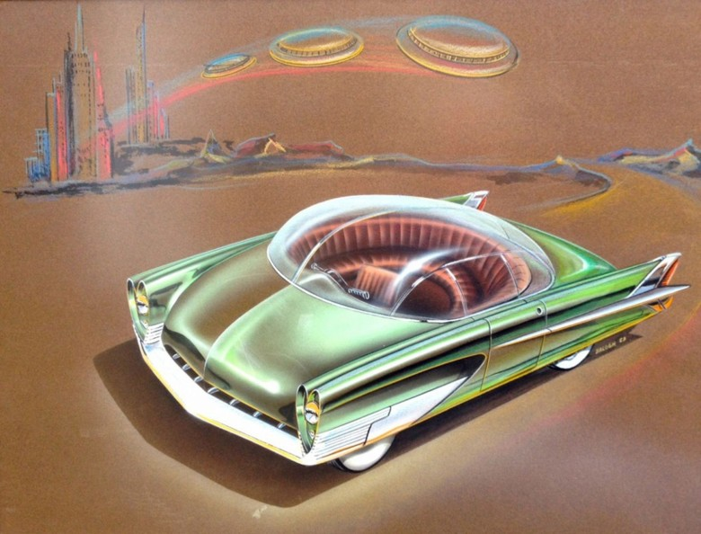 Charles Balogh, Ford Advanced Studio, 1953. Photo: American Dreaming