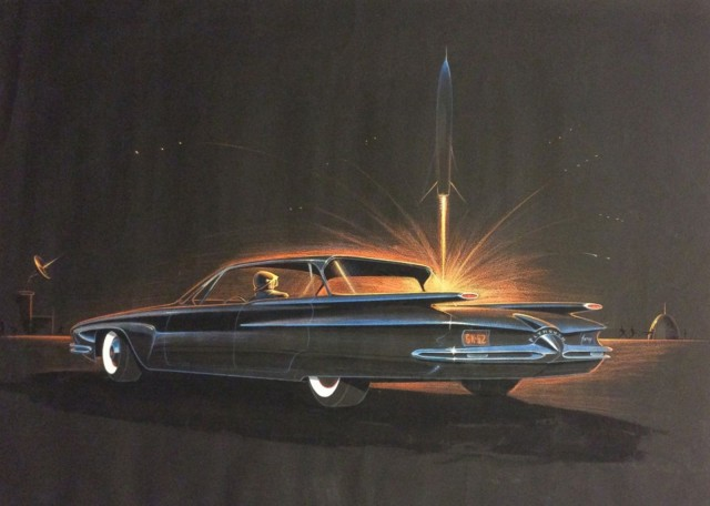 George Krispinsky, Plymouth Fury, 1958. Photo: American Dreaming