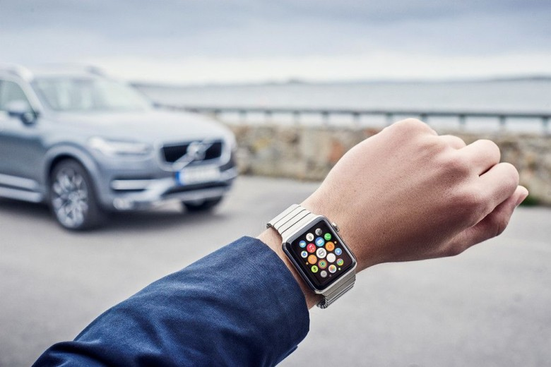 Apple Watch and Volvo are ready to roll.