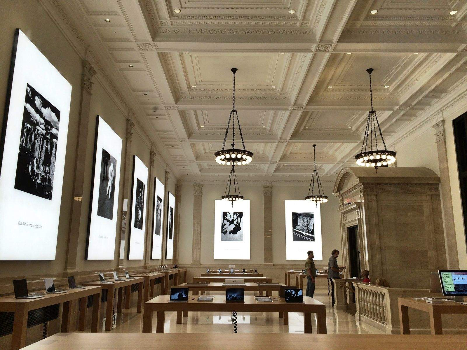 Peek Inside The Apple Store Upper East Side