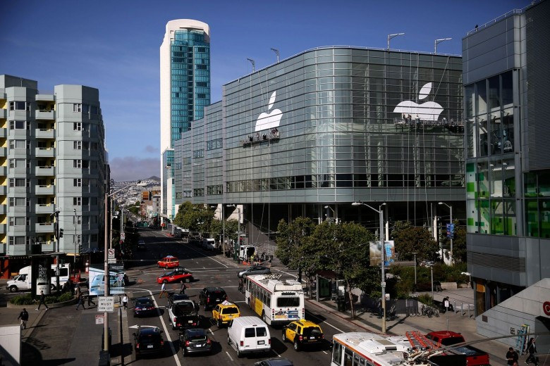 It's beginning to look a lot like WWDC at Moscone Center in San Francisco.