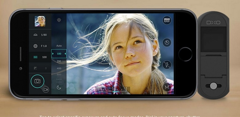 The DxO One Camera attaches to your iPhone to beef up image quality.
