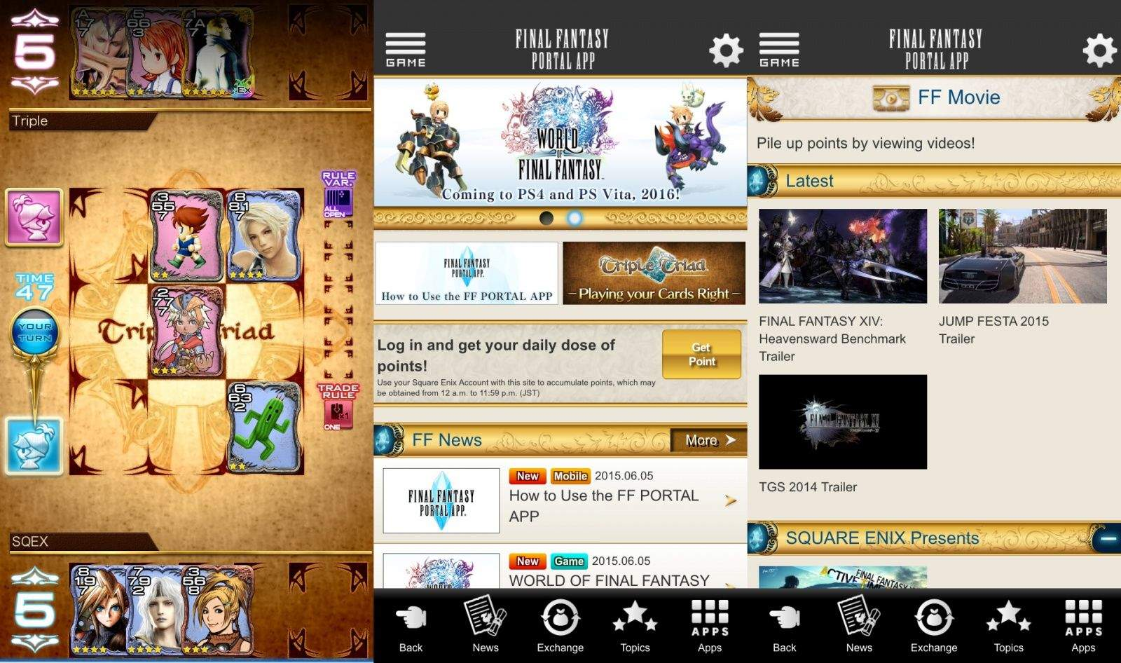 Square Enixs New Apps Are A Dream Come True For Final Fantasy Nerds - Create invoice app square enix online store