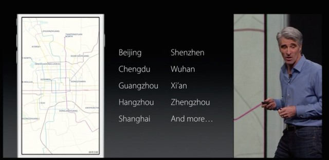 WWDC 2015 - Maps transit cities