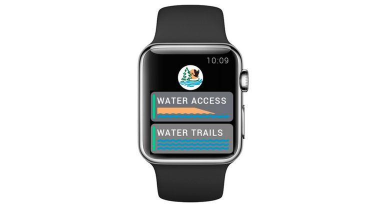 Maryland DNR Apple Watch