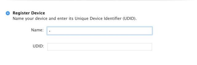 Register Device