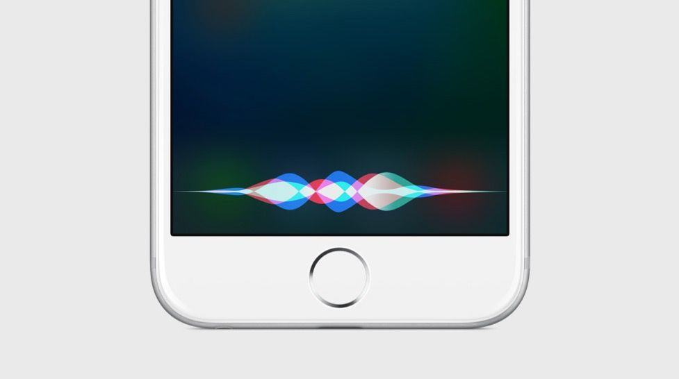 iOS 9 Siri screen