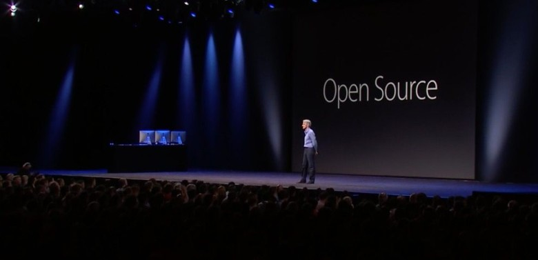 Apple makes Swift open source at WWDC 2015.