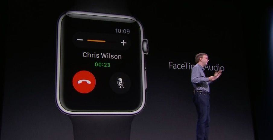FaceTime audio is coming to Apple Watch.