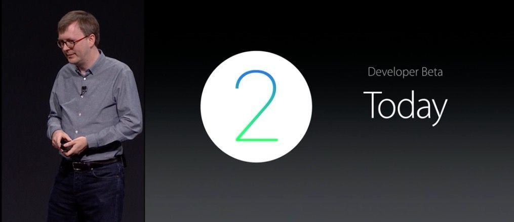watchOS 2 is available to developers today.