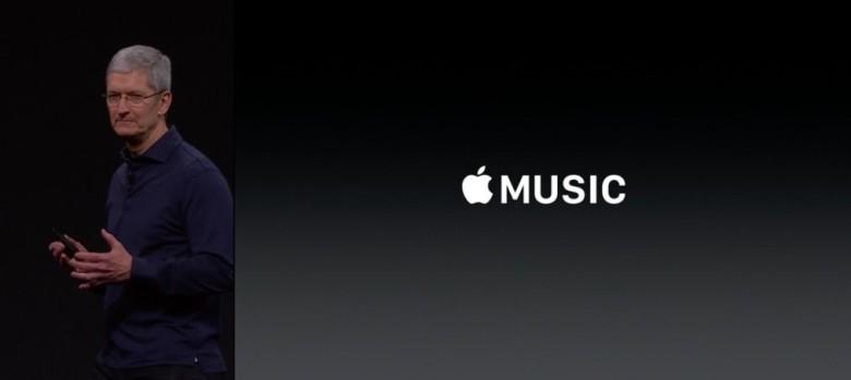 Tim Cook talks Apple Music at WWDC 2015.