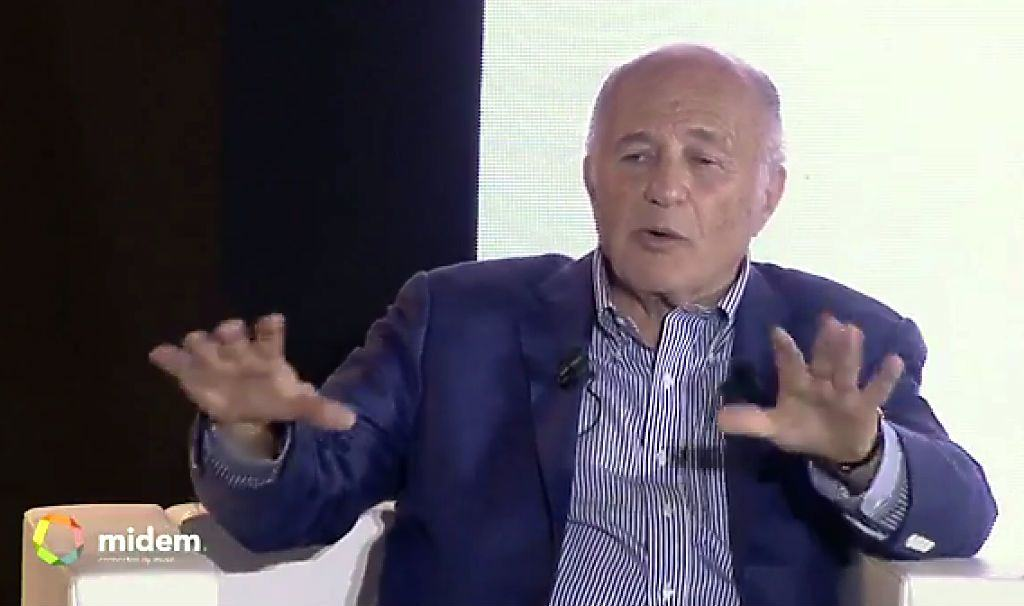 Sony Music CEO Doug Morris says Apple Music is