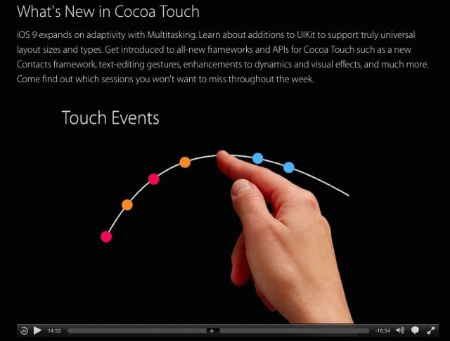 """iOS 9 now includes """"predictive touch"""" that predicts where touches are going. It's an essential prerequisite to supporting a stylus."""