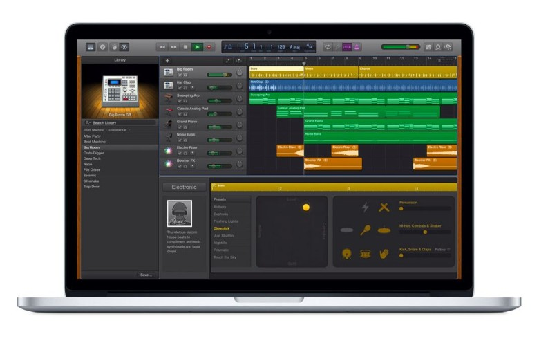 GarageBand update for Apple Music