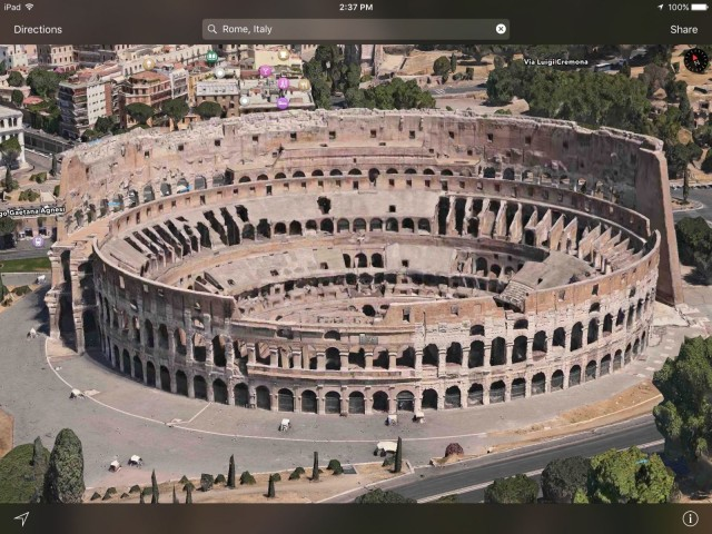 apple-maps-flyover-rome-vegas-yosemite-venice-sydney-paris-london-new-york - 1