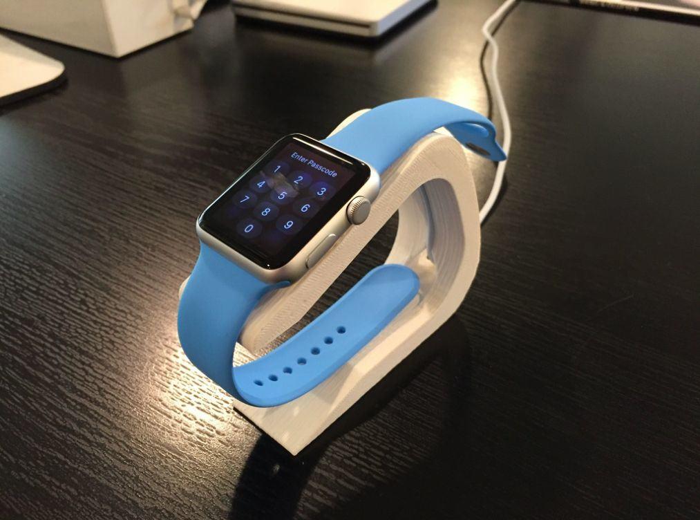 Top 3-D Printable Apple Watch Stands