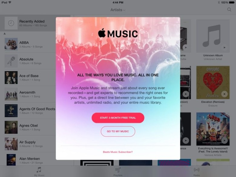 Welcome to Apple Music