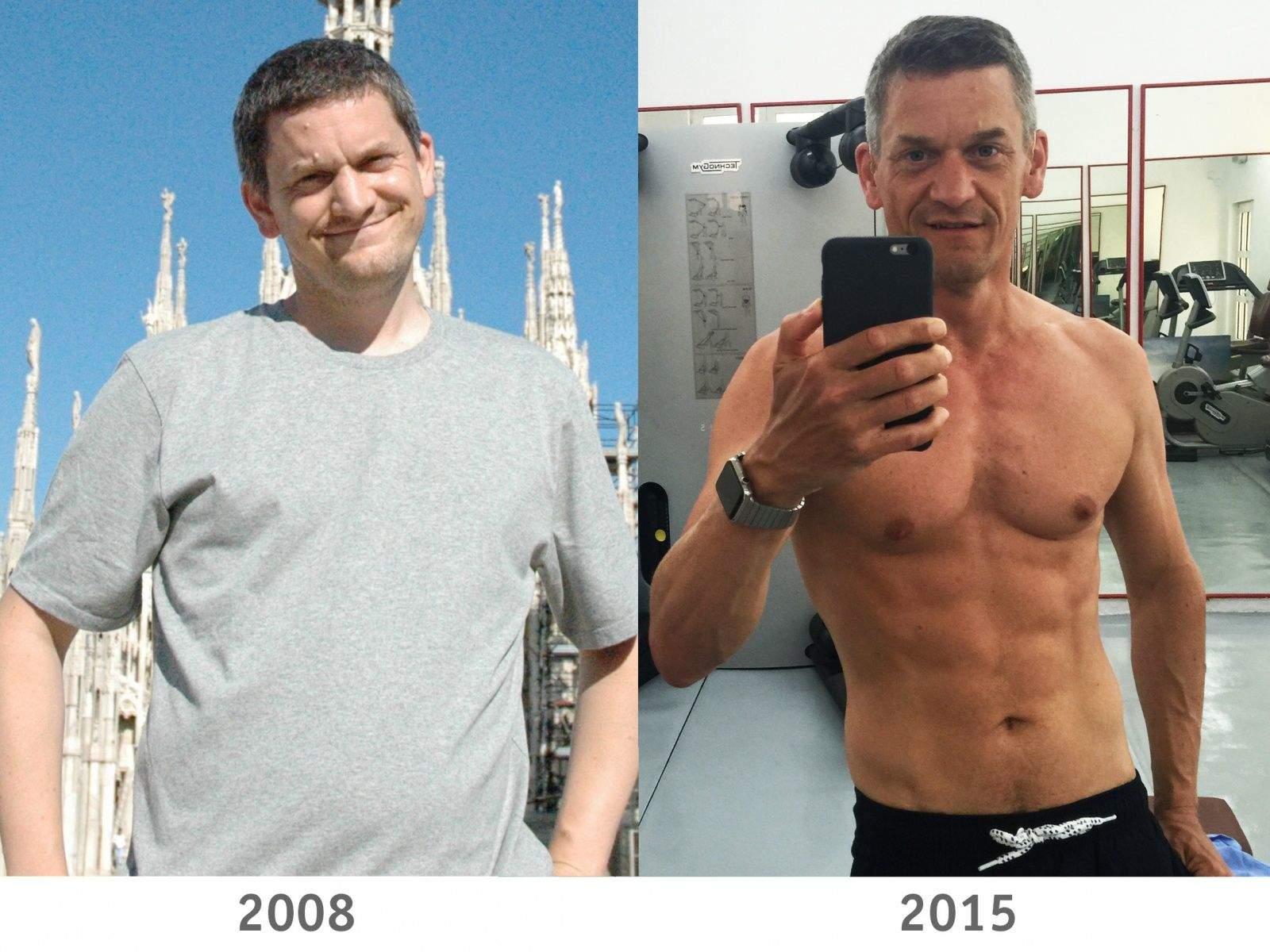 The fitness apps that gave me abs - from dad bod to six pack